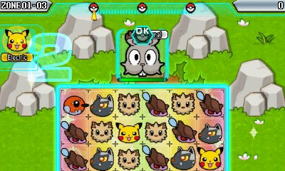 Pokemon Battle Trozei Screenshot
