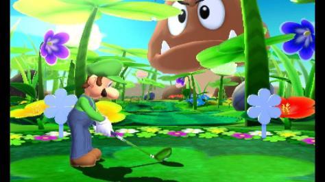 Mario Golf Luigi