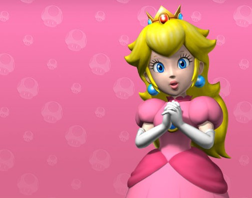Prinsessan Peach får egen Wii-mote