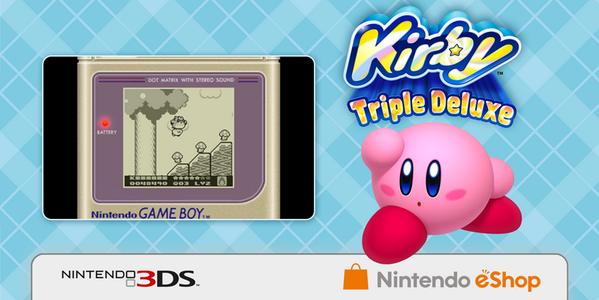 Extra spel på köpet när du köper Kirby Triple Deluxe via eShopen