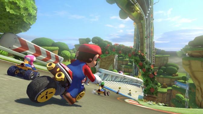 Mario Kart 8 – en galet underhållande berg- och dalbanefärd