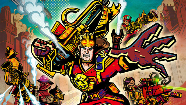 Recension: Vansinnigt spännande strategisk action i Code Name S.T.E.A.M.