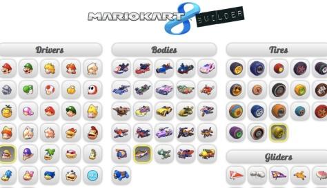 Mario Kart 8 Builder