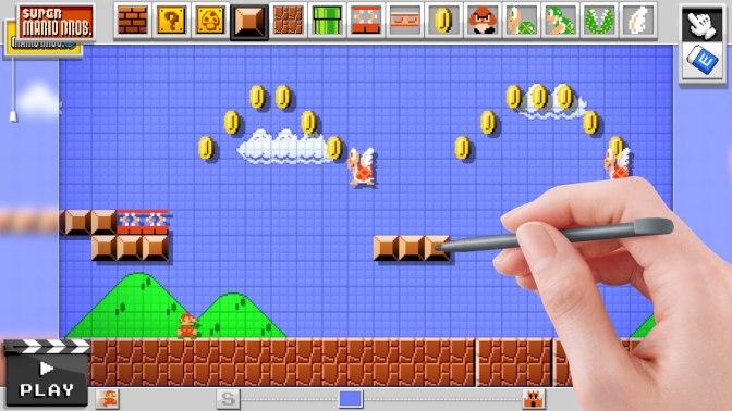 Så ser gör det själv-spelet Mario Maker ut – bildspecial