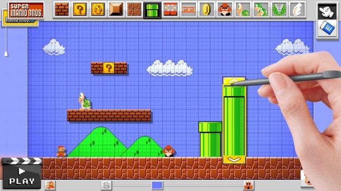 Nintendo avslöjar fler detaljer om Mario Maker (video)