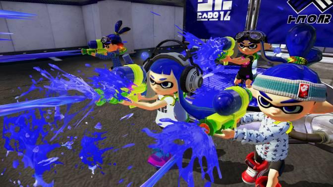 Nintendo övervägde att låta redan existerande karaktärer ha huvudrollen i Splatoon