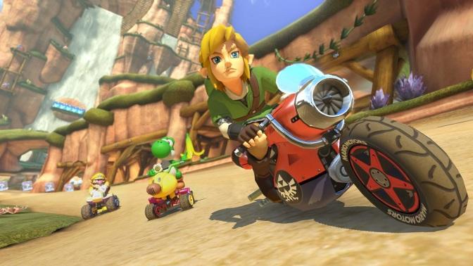 Mario Kart 8 får Mercedes-bilar, Zelda-banor och nya funktioner