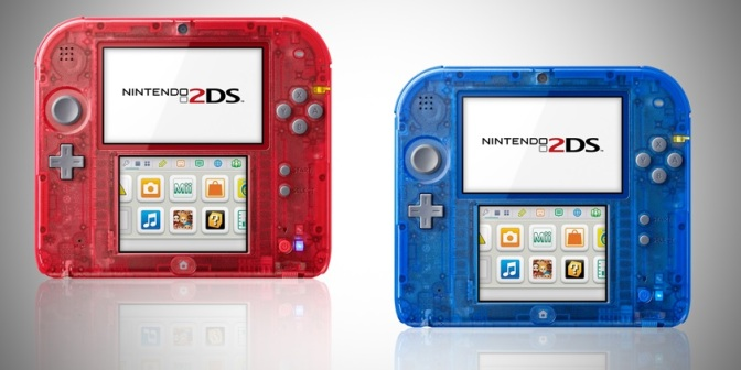 Nintendo släpper transparent version av 2DS