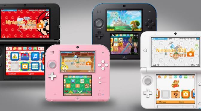 Nya 3DS-uppdateringen ger temainställningar – ute nu!