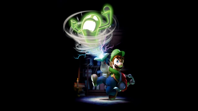 Capcom släpper arkadversion av Luigis Mansion under 2015