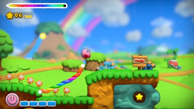 Ny japansk trailer för Kirby and The Rainbow Curse