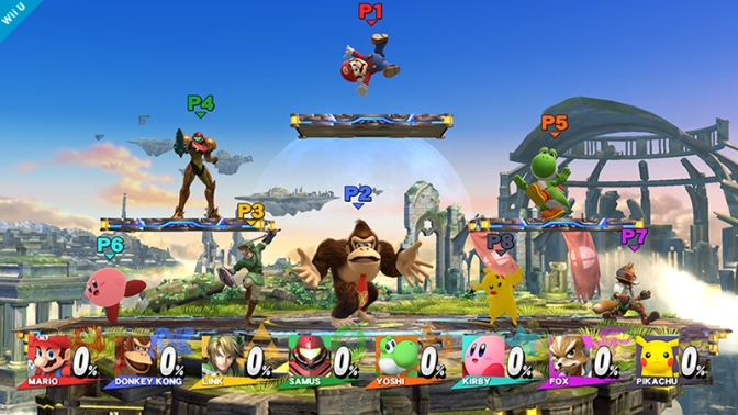 Super Smash Bros – en överväldigande fightingfest