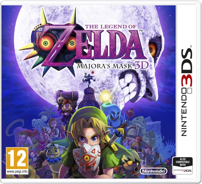 Se mer av Majoras Mask till 3DS i video från japanska Nintendo Direct