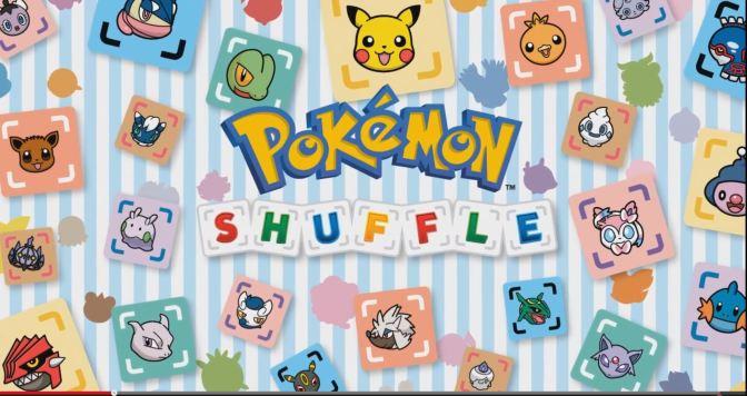 Lösenordskod i första uppdateringen av Pokémon Shuffle