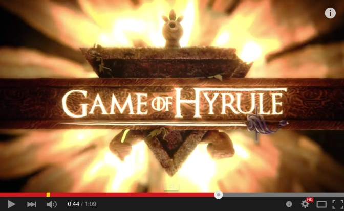 The Legend of Zelda möter Game of Thrones i ny You Tube-video