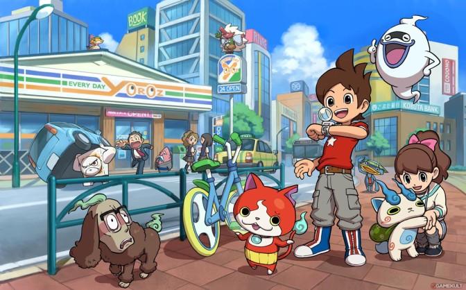 Spelsuccén Yo-Kai Watch släpps till 3DS i Europa