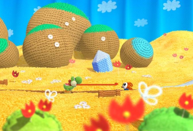 Yoshi's Woolly World släpps i juni