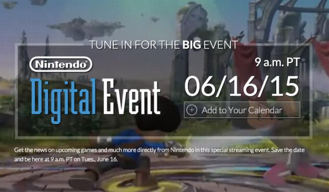 Här hittar du alla Nintendo-sändningar från E3 2015